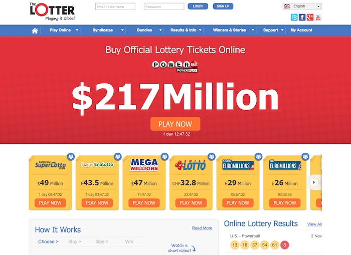 You can buy World Lottery Tickets at The Lotter Website
