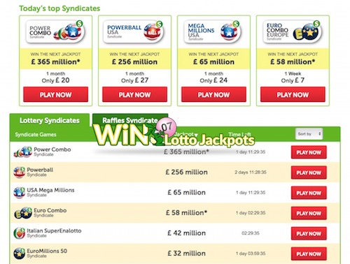 Top Syndicates at Win Trillions include Millionaire Raffle Games